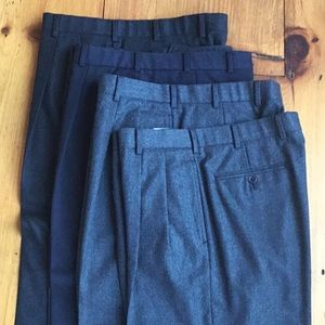Brooks Brothers Pants.  Four Pair. Size 36